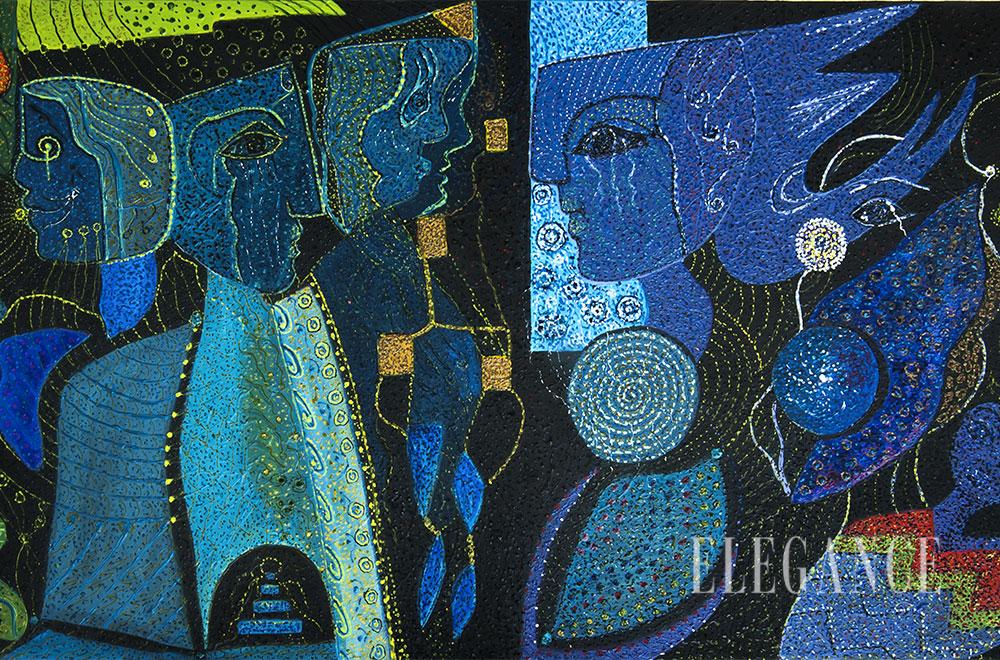 Fryma impresioniste e Violeta Kongos