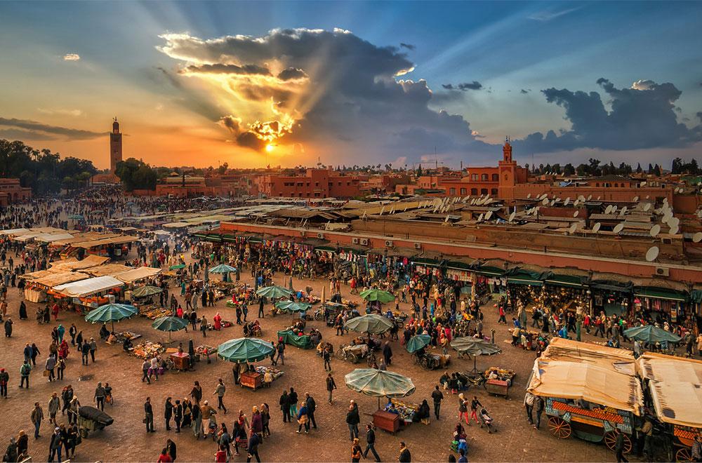 Marrakeshi, qyteti i kuq