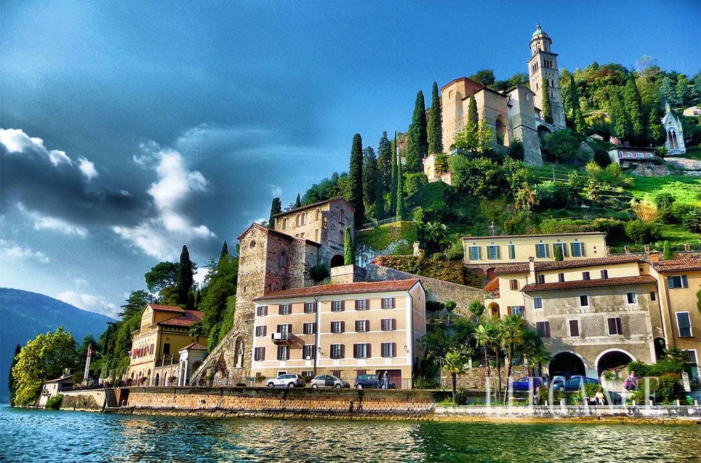 Lugano, oazi i natyrës