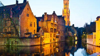 Bruges i përallave mesjetare!