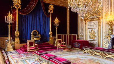 Fontainebleau – Interior për Mbretër