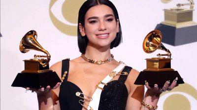2 Grammy për Dua Lipa