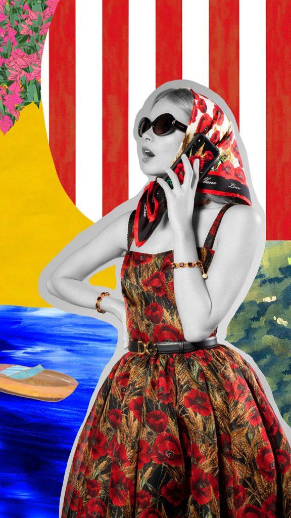 Reverse, Retro! Dolce&Gabbana