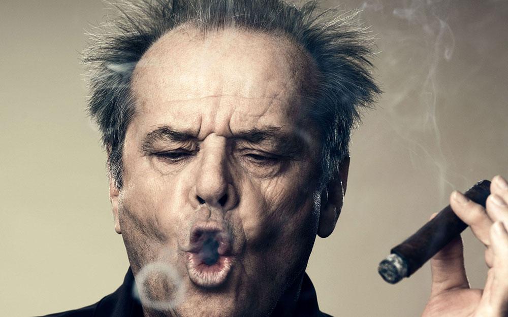 Jack Nicholson, 60 vite histori në pelikulë!