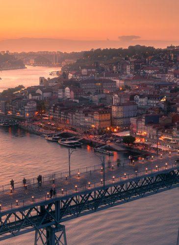 Detaje-nga-qyteti-i-Portos,-Portugali