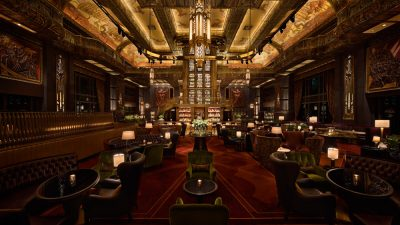 Atlas Bar në Singapor, parajsa e gin