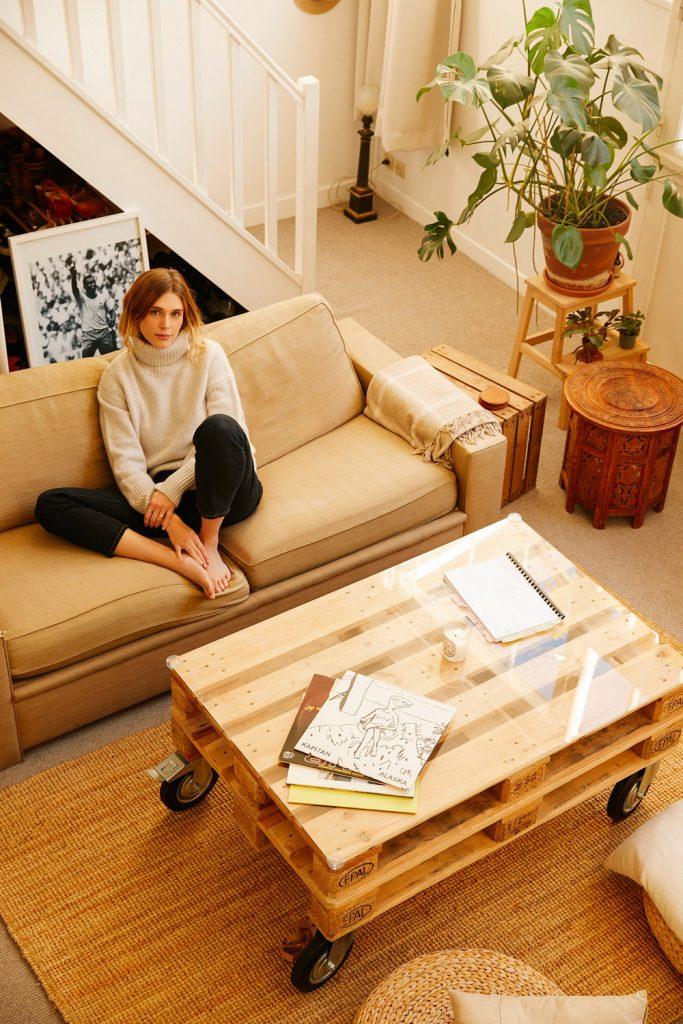 Stili dhe apartamenti i Gaïa Weiss