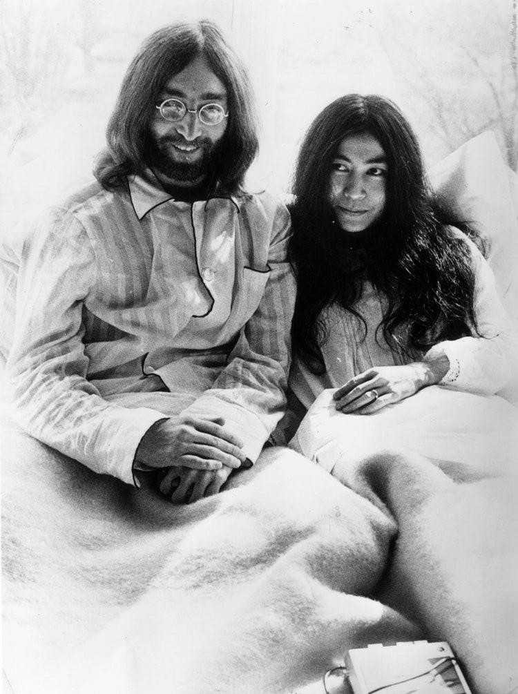 Retrospektivë: John Lennon dhe Yoko Ono