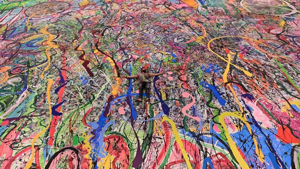 Piktura më e madhe në botë shitet për çmimin marramendës