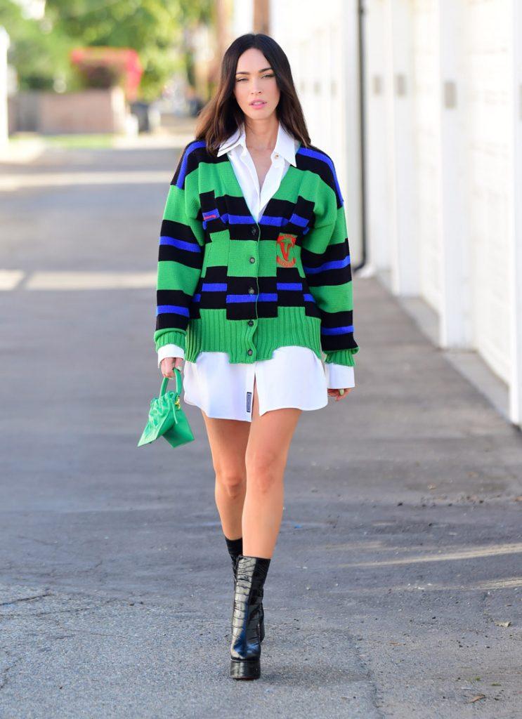Megan Fox rikthen trendin e cardigan në mënyrën më stylish!