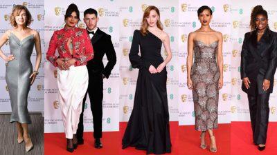 Veshjet më të bukura në BAFTA