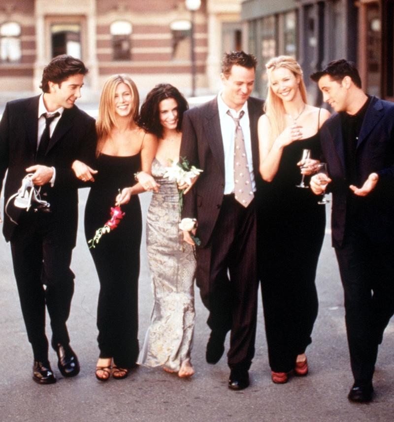 Pas 10 viteve rikthehen Friends në një episod super special