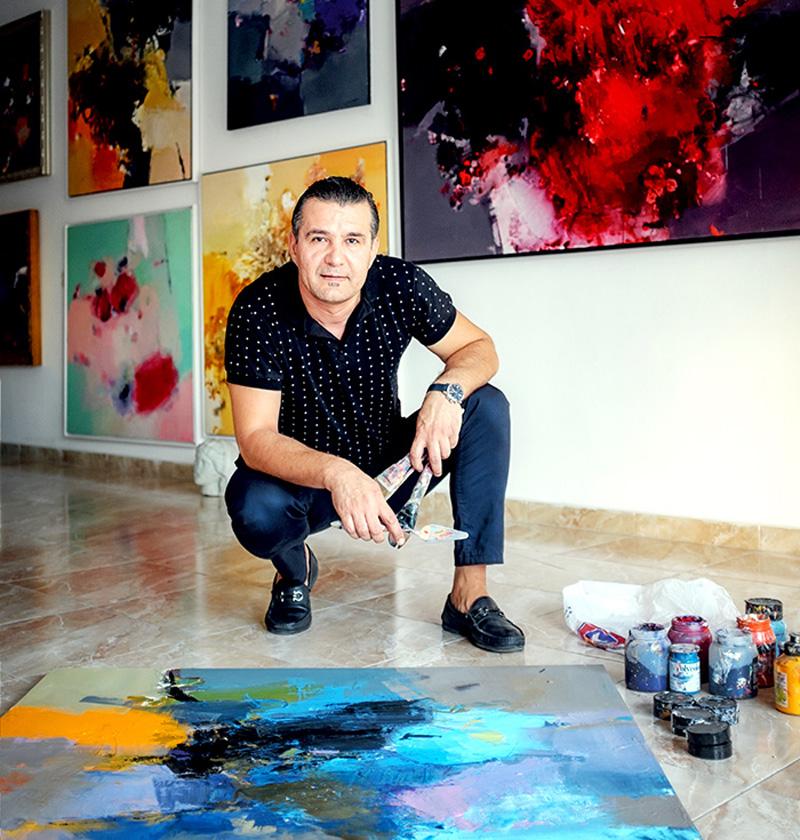 """Artisti Admir Pervathi sjell """"A Galeri"""", pikënisjen e ëndrrës dhe vijimësinë e karrierës së tij"""