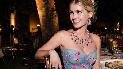 Lady Kitty Spencer, mbesa e Lady Diana celebroi dashurinë me Dolce & Gabbana Alta Moda!