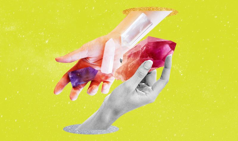 Ku mund të gjeni kristalet më mahnitës për miken spirituale?